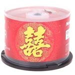 纽曼婚庆系列DVD-R 16速 4.7G(50片桶装) 盘片/纽曼