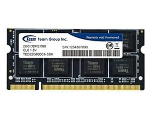 十铨科技DDR2 800 2G 笔记本内存图片