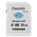 东芝FlashAir WiFi SDHC存储卡 Class10(W-03)(32GB) 闪存卡/东芝