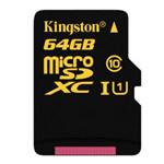 金士顿microSDXC 闪存卡  Class 10 UHS-I(64GB) 闪存卡/金士顿