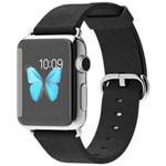 苹果watch(38mm不锈钢表壳搭配黑色经典扣式表带) 智能手表/苹果