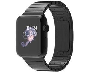 苹果watch(38mm深空黑色不锈钢表壳搭配深空黑色链式表带)