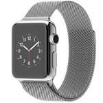 苹果watch(38mm不锈钢表壳搭配米兰尼斯表带) 智能手表/苹果