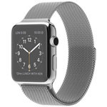 苹果watch(42mm不锈钢表壳搭配米兰尼斯表带) 智能手表/苹果