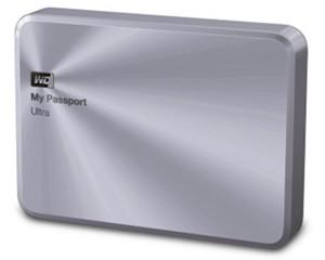 西部数据My Passport Ultra 金属版 2TB(WDBEZW0020BSL)