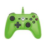 力毅超酷迷你XBOX ONE有线游戏手柄(绿色) 游戏周边/力毅
