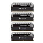 海盗船16GB DDR4 2800 统治者铂金(CMD16GX4M4A2800C16) 内存/海盗船
