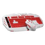 讯拓幽灵蜂AK79游戏竞技有线USB背光游戏套装 键鼠套装/讯拓