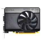 EVGA GT740 1GB FTW GDDR5 1202MHz 显卡/EVGA