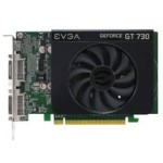 EVGA GT730 DDR3 2G Ref. Single Slot 显卡/EVGA