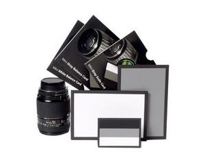 爱色丽ColorChecker标准黑白灰三色卡(标准型)图片