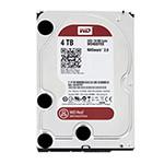 西部数据红盘4TB SATA6Gb/s 64M(WD40EFRX) 硬盘/西部数据