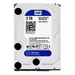 西部数据蓝盘3TB SATA6Gb/s 64M(WD30EZRZ) 硬盘/西部数据