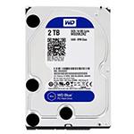 西部数据蓝盘2TB SATA6Gb/s 64M(WD20EZRZ) 硬盘/西部数据