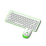 富勒A65G卡通无线键鼠套装 键鼠套装/富勒