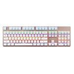 森松尼S-J1混光青轴机械键盘 104键 键盘/森松尼