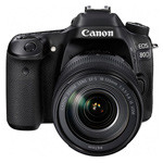 佳能80D套机(EF-S 18-135mm IS USM) 数码相机/佳能