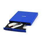 e磊外置光驱康宝 笔记本外接光驱 台式移动DVD光驱 USB光驱 CD刻录机 EL-R7 蓝色 DVD刻录机/e磊
