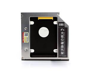e磊笔记本光驱位硬盘托架12.7mmSSD固态SATA3防震 光驱位硬盘架 通用EL07 12.7mm厚 EL07图片