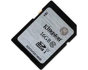 金士顿UHS-I Class10 SD卡(16GB)图片