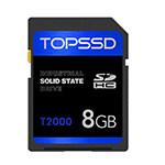 天硕T2000工业SD卡(8GB) 闪存卡/天硕