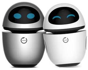 狗尾草公子小白情感社交机器人智能语音互动高科技宠物机器人 情侣款