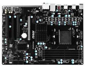 微星970A-G43 PLUS图片