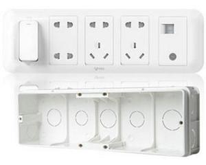 公牛客厅影音专用插座(G10E601)