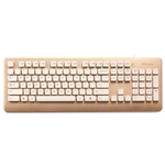班德D808香槟金特别版复古打字机有线水洗键盘 键盘/班德