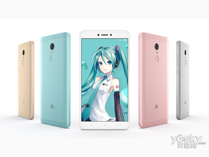 小米红米Note 4X(初音未来套装版/32GB/全网通)