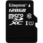 金士顿Micro SDXC卡 Class10 UHS-1(128GB) 闪存卡/金士顿