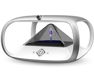 狗尾草 holoera琥珀虚颜 3D全息投影偶像养成智能机器人