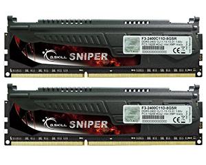 芝奇狙击手Sniper 8GB DDR3 2400(F3-2400C11D-8GSR)图片