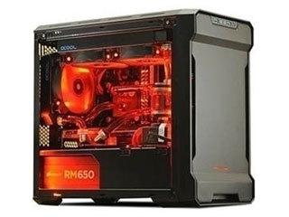 追风者PK215迷你ITX侧透水冷机箱图片