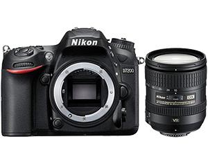 尼康D7200套机(16-85mm VR)