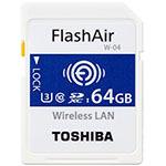 东芝FlashAir SD-UWA系列(W-04)(64GB) 闪存卡/东芝