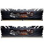 芝奇Flare X 16GB DDR4 2400(F4-2400C16D-16GFX) 内存/芝奇