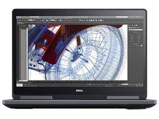 戴尔Precision 7720系列(Xeon E3-1505M v6/16GB/256GB+2TB/WX7100)图片