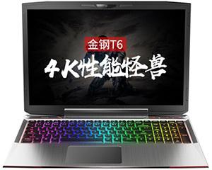 火影金钢T6(i7 8750H/16GB/256GB+1TB)