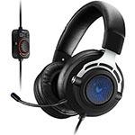 雷柏VH300虚拟7.1声道背光游戏耳机