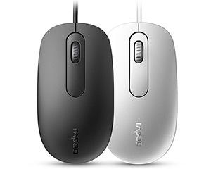 雷柏N200有线光学鼠标