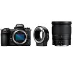 尼康Z7套机(Nikkor Z 24-70mm f/4 S,卡口适配器 FTZ) 数码相机/尼康