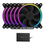 鑫谷Moparty RGB 套件蓝牙律动版 散热器/鑫谷