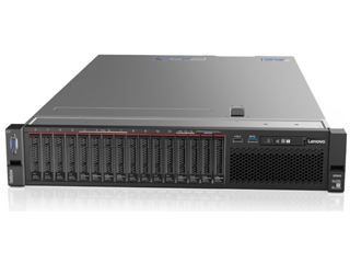 联想ThinkSystem SR850(Xeon Gold 5118×2/16GB×8/600GB×4)图片