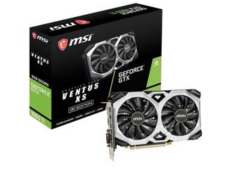 微星GeForce GTX 1660Ti VENTUS XS C 6G OC