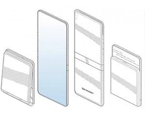 夏普折叠手机