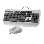 雷柏V100C背光游戏键鼠套装 键鼠套装/雷柏