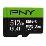 PNY Elite-X U3 A1 TF (microSD) 存��卡(512GB) �W存卡/PNY