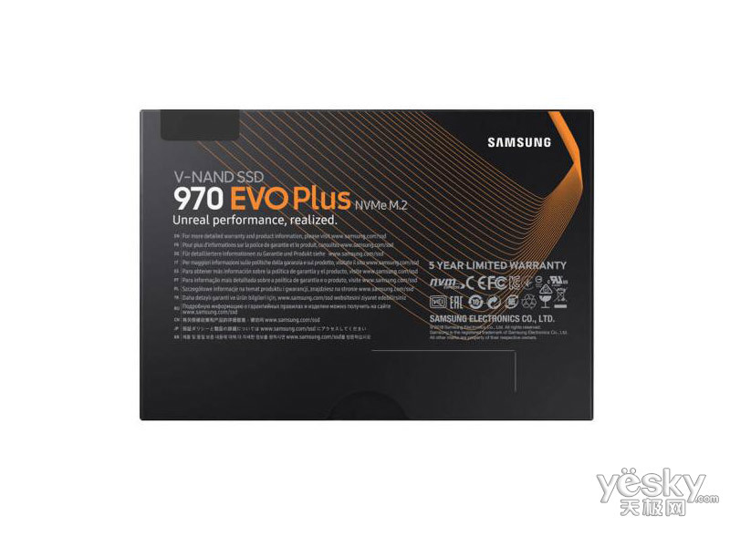 三星970 EVO Plus NVMe M.2(2TB)
