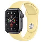 苹果Watch Series 5(GPS+蜂窝网络/铝金属表壳/运动表带/40mm) 智能手表/苹果